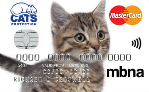 MBNAのCats Protection Credit Card