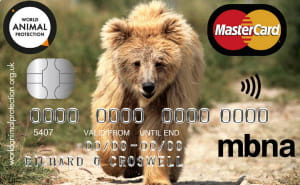 MBNA World Animal Protection Credit Card