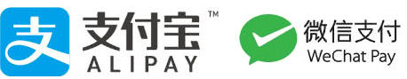 AlipayとWeChatPayロゴ