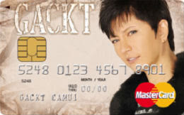 GACKT GACKT Card UPty Byオリコ