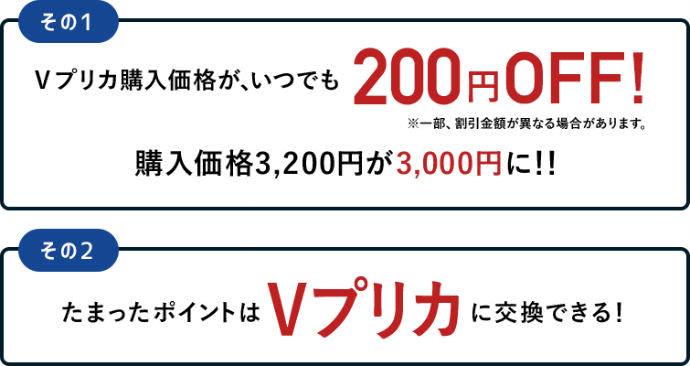 ライフカードで200円割引