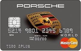 Porsche Card