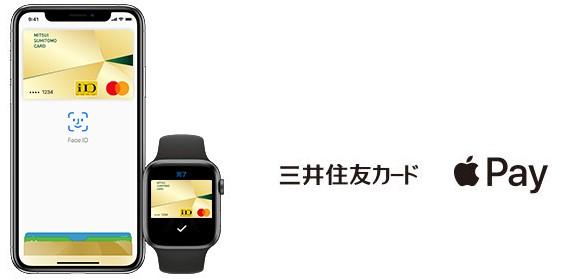 Apple Payに登録した三井住友カード