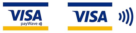 Visaのタッチ決済ロゴ